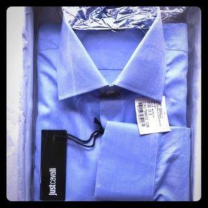Brand New! Just Cavalli Mens Dress Shirt